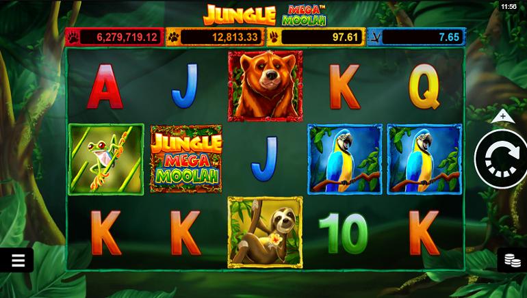 Slot İncelemesi: Microgaming'ten Jungle Mega Moolah