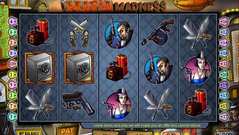 Mafia Madness - 100 Ücretsiz Çevirme