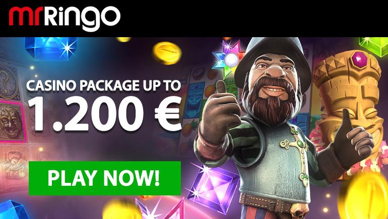 Mr Ringo Casino'nun cömert hoşgeldin paketiyle süper video slotlarını deneyin