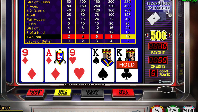 Ücretsiz Online Video Poker